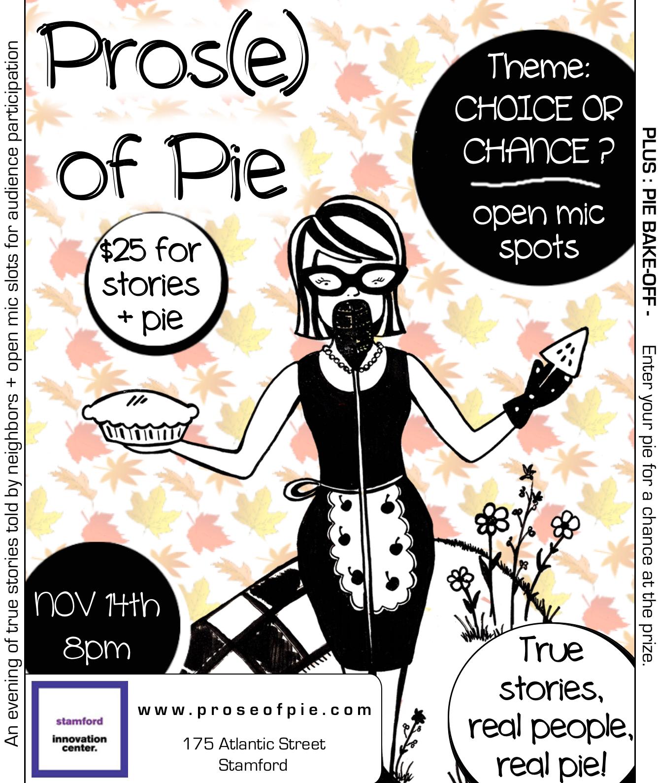 Prose of Pie Poster