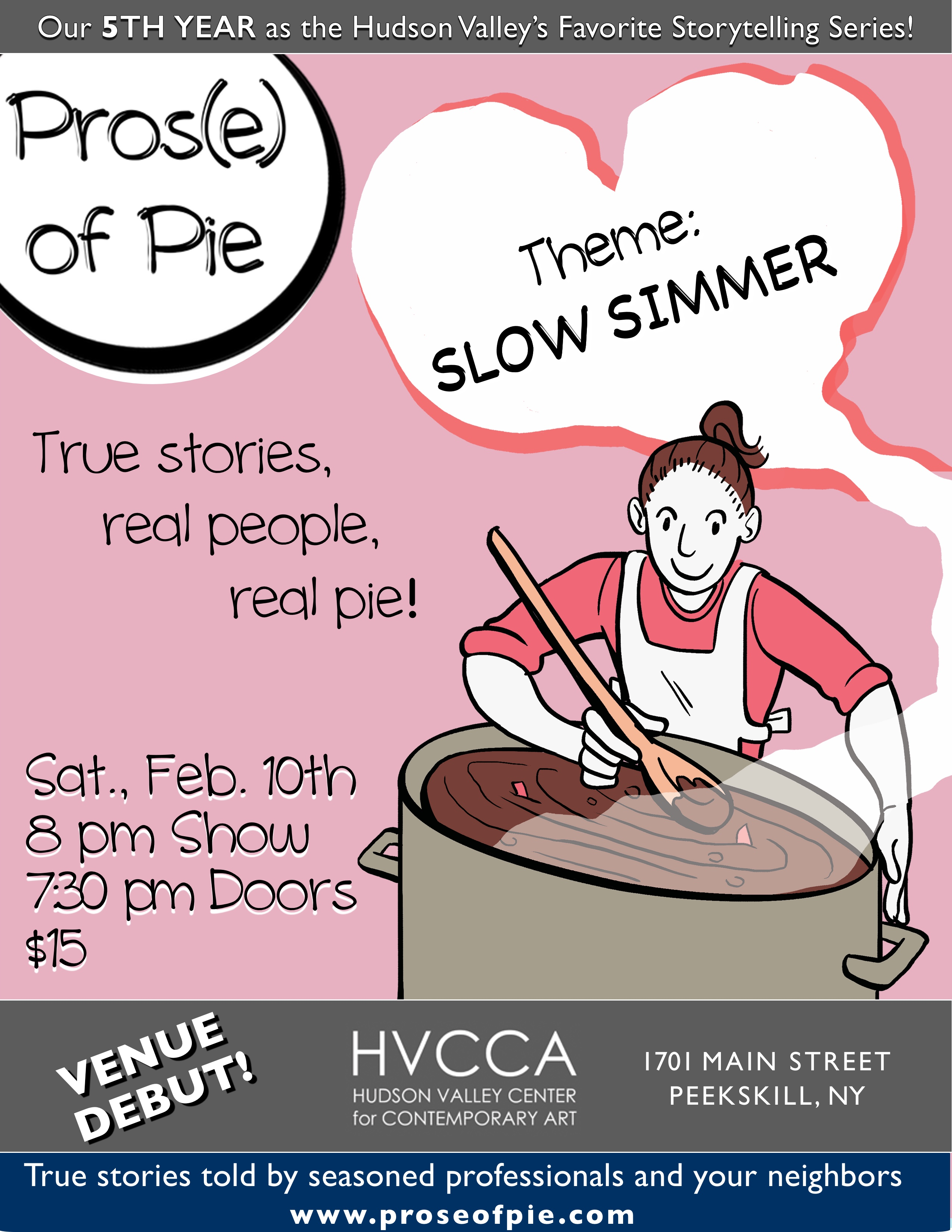 Prose of Pie Poster